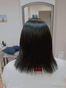 頭皮洗浄  モデルケース②~頭皮のかゆみ、乾燥~