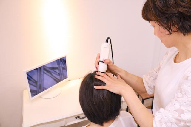 頭皮診断&ハーブシャンプー体験を始めました